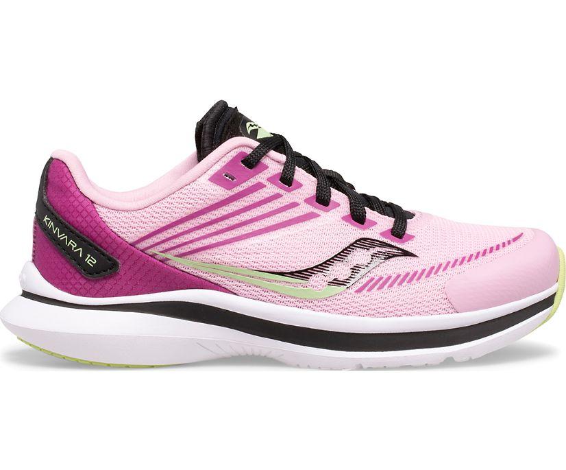Kinvara 12 Sneaker, Pink   Purple, dynamic