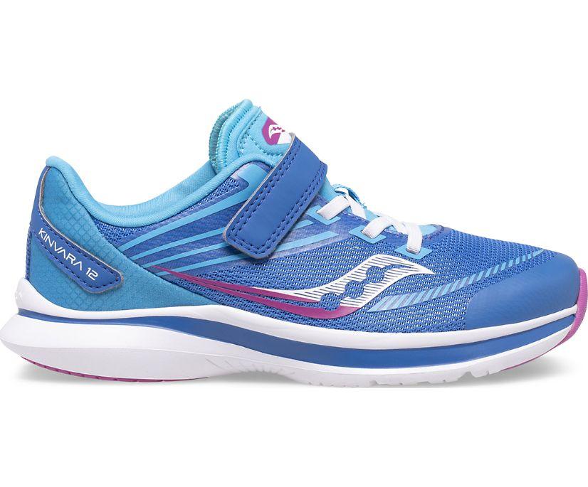 Kinvara 12 A/C Sneaker, Blue | Pink, dynamic