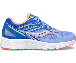 Cohesion 14 Lace Sneaker, Blue | Coral, dynamic