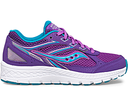 Cohesion 14 Lace Sneaker, Purple | Turq, dynamic