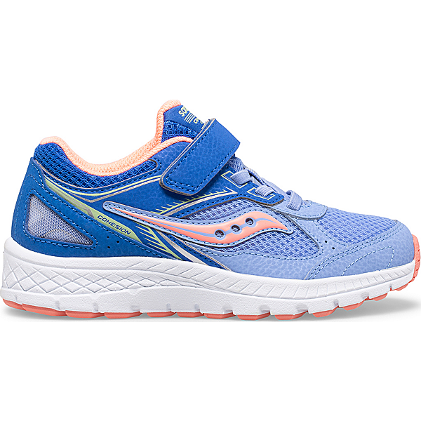 Cohesion 14 A/C Sneaker, Blue | Coral, dynamic