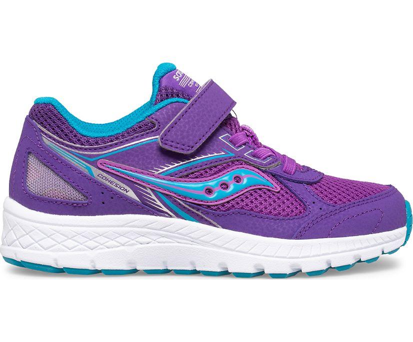 Cohesion 14 A/C Sneaker, Purple | Turq, dynamic