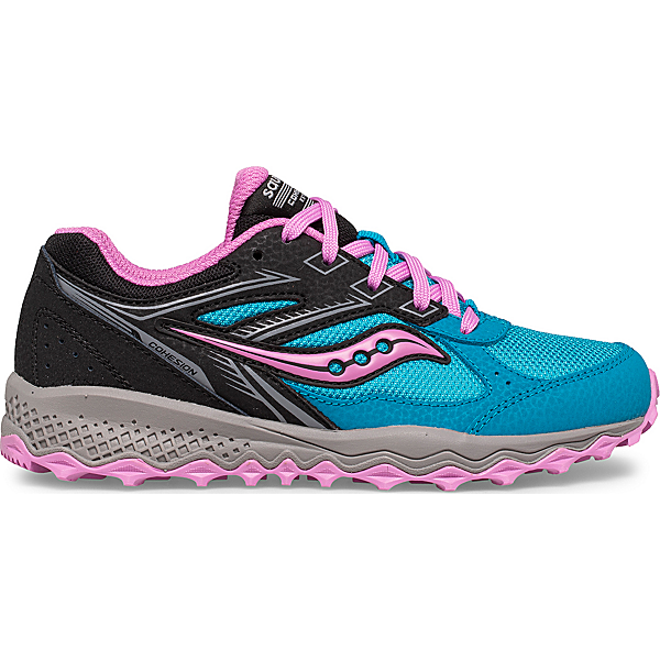 Cohesion TR14 Lace Sneaker, Blue | Pink | Black, dynamic