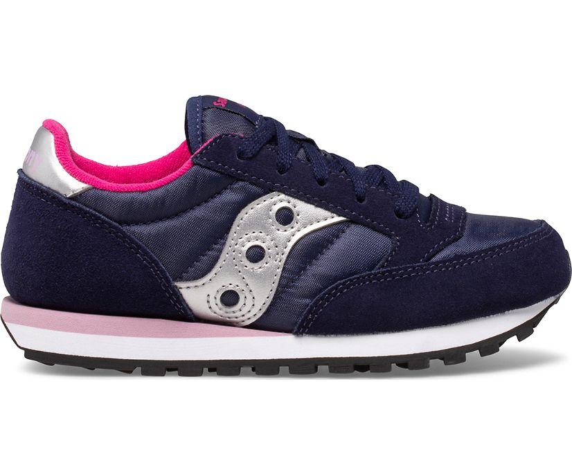 Jazz Original Sneaker, Navy | Pink, dynamic