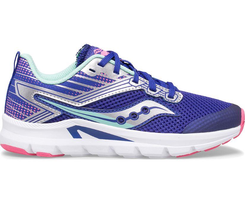 Axon Sneaker, Blue   Turq   Pink, dynamic