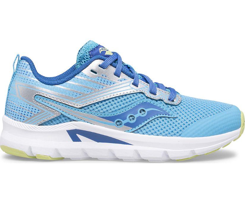 Axon Sneaker, Blue   Silver, dynamic