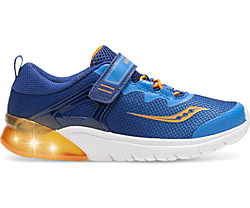 Flash Glow A/C Sneaker, Blue | Orange, dynamic