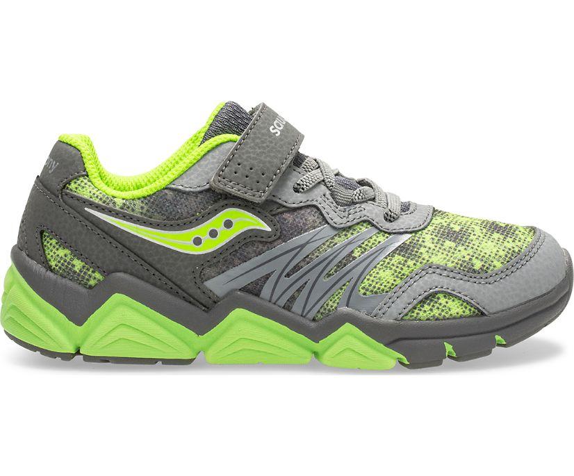 Flash A/C Sneaker, Grey/Citron, dynamic