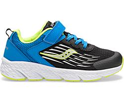 Wind A/C Sneaker, Black/Blue, dynamic