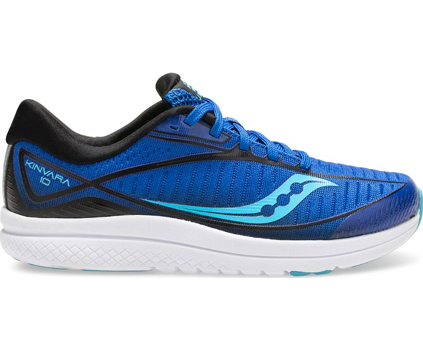 Kinvara 10 Sneaker, Blue/Black, dynamic