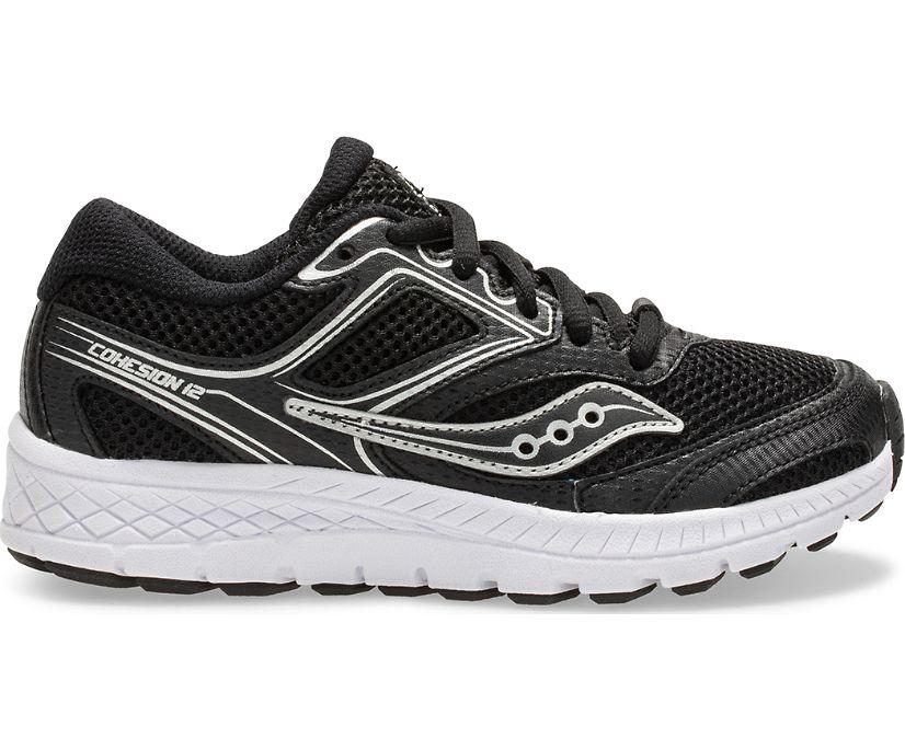 Cohesion 12 Lace Sneaker, Black, dynamic