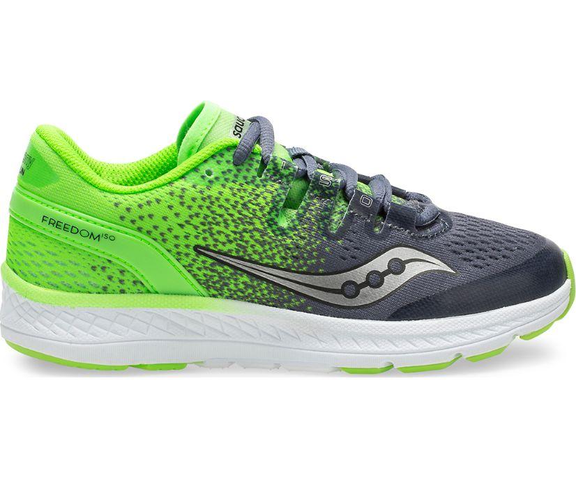 Freedom ISO Sneaker, Grey/Slime, dynamic