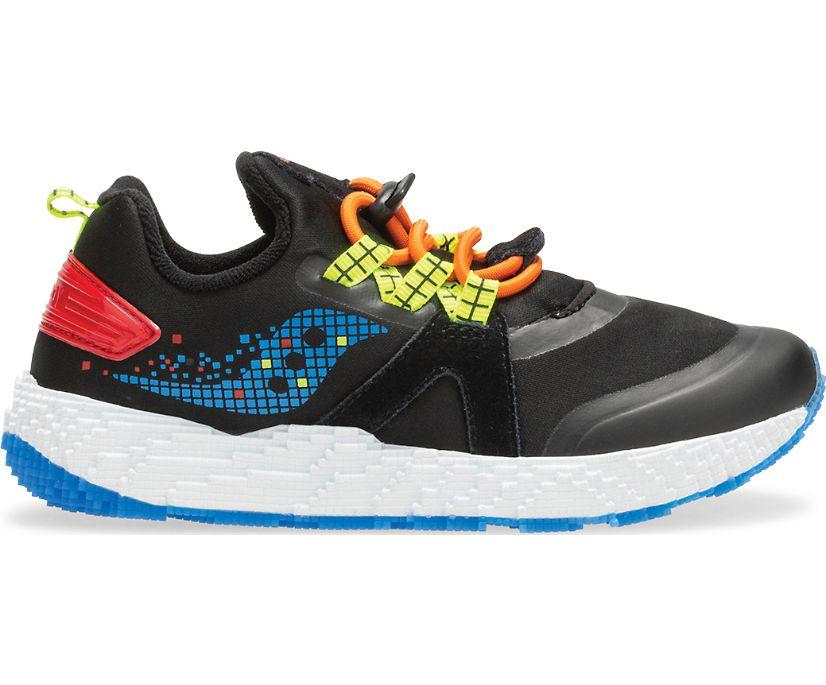 Voxel 9000 Sneaker, Black | Multi, dynamic