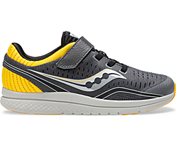 Kinvara 11 A/C Sneaker, Grey | Yellow, dynamic