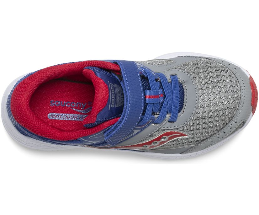 Cohesion 13 A/C Sneaker, Blue | Grey | Red, dynamic