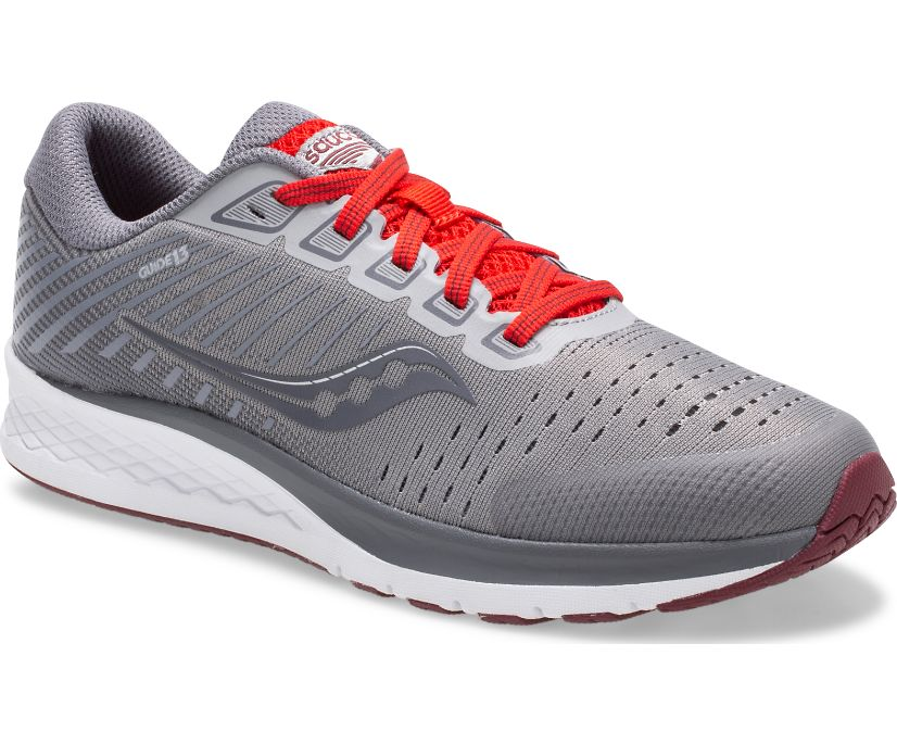Guide 13 Sneaker, Alloy | Red, dynamic