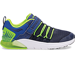 Flash Glow 2.0 Sneaker, Navy | Green, dynamic