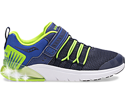 Flash Glow 2.0 Sneaker, Navy | Green, dynamic