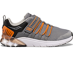 Flash Glow 2.0 Sneaker, Grey | Orange, dynamic