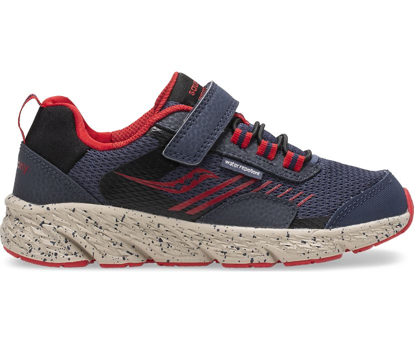 Wind Shield A/C Sneaker, Navy | Red, dynamic