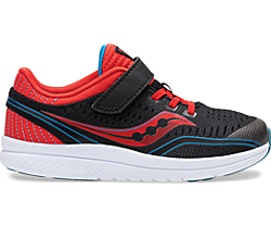 Kinvara 11 A/C Sneaker, Black | Red | Blue, dynamic