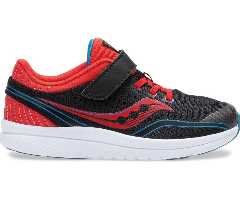 Kinvara 11 A/C Sneaker, Black | Red | Blue, dynamic
