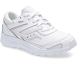 Cohesion 13 Lace Sneaker, White, dynamic