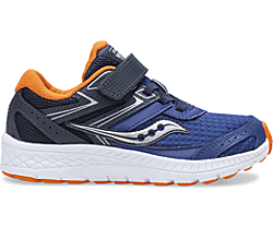 Cohesion 13 A/C Sneaker, Navy   Orange, dynamic