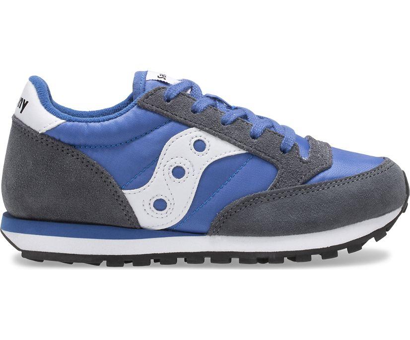 Jazz Original Sneaker, Grey | Blue, dynamic