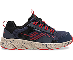 Wind Shield Sneaker, Navy | Red, dynamic
