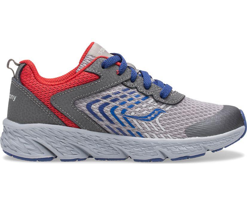 Wind Lace Sneaker, Grey | Blue | Red, dynamic