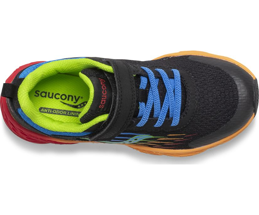 Wind A/C Sneaker, Black | Multi, dynamic