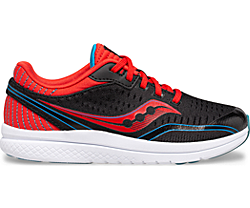 Kinvara 11 Sneaker, Black | Red | Blue, dynamic