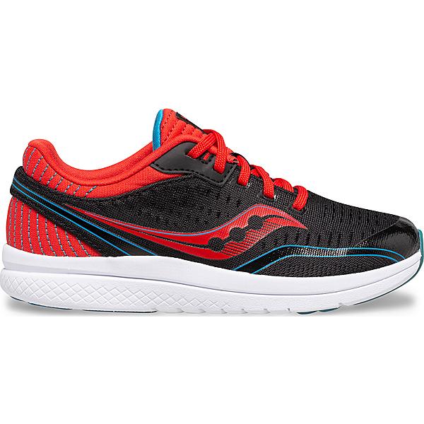 Kinvara 11 Sneaker, Black   Red   Blue, dynamic