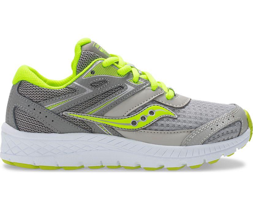 Cohesion 13 Lace Sneaker, Grey | Citron, dynamic