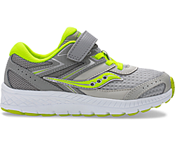 Cohesion 13 A/C Sneaker, Grey   Citron, dynamic