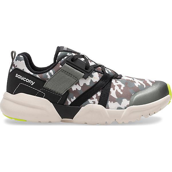 Vertex Lace Sneaker, Olive Camo, dynamic