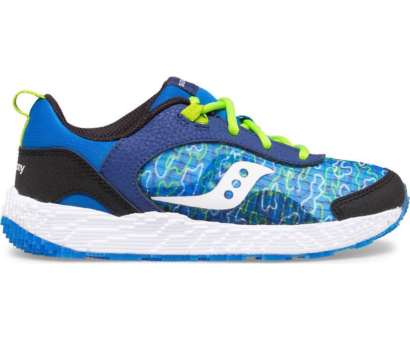 Voxel 6000 Sneaker, Blue Camo, dynamic