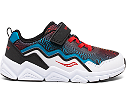 Flash A/C 2.0 Sneaker, Black | White | Red | Blue, dynamic