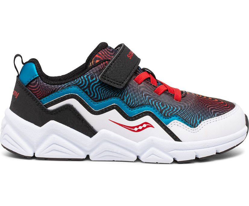 Flash A/C 2.0 Sneaker, Black | White | Red | Blue, dynamic
