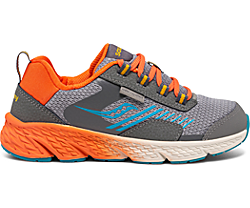 Wind Shield Sneaker, Grey | Orange | Blue, dynamic