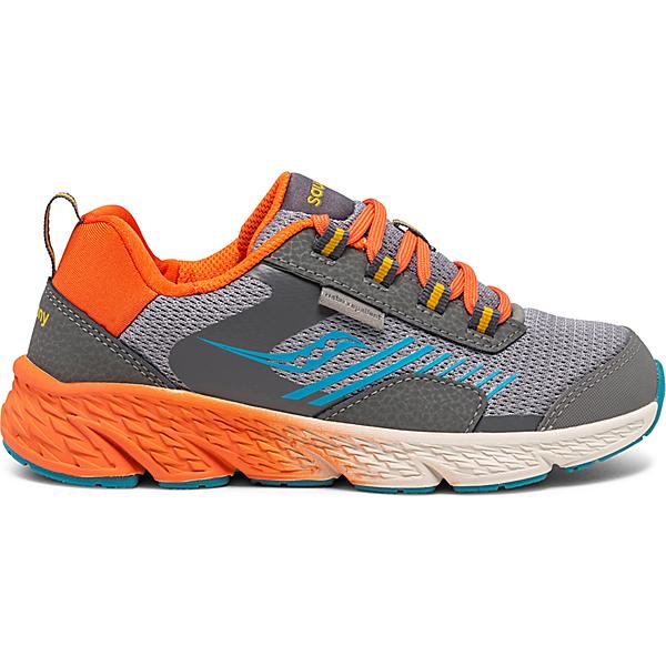 Wind Shield Sneaker, Grey   Orange   Blue, dynamic