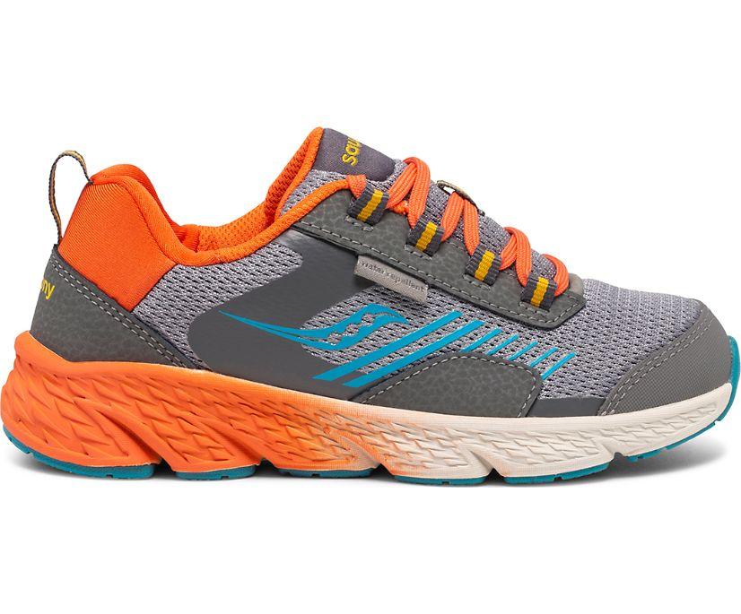 Wind Shield Sneaker, Grey | Orange | Blue, dynamic