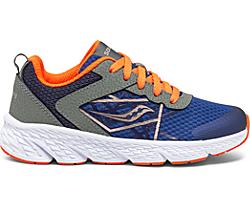 Wind Lace Sneaker, Olive | Navy | Orange, dynamic
