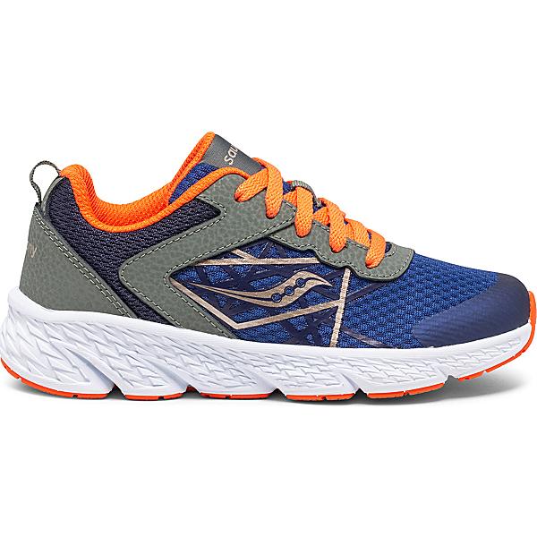 Wind Lace Sneaker, Olive   Navy   Orange, dynamic