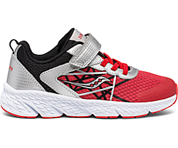 Wind A/C Sneaker, Silver | Red | Black, dynamic