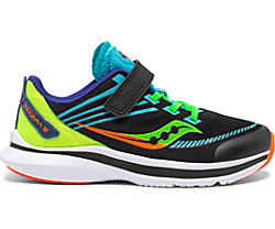 Kinvara 12 A/C Sneaker, Black | Green, dynamic