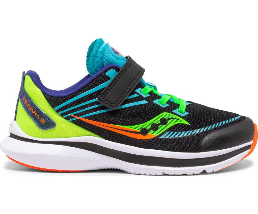 Kinvara 12 A/C Sneaker, Black | Green, dynamic