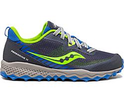 Peregrine 11 Shield Sneaker, Blue | Green, dynamic