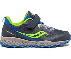 Peregrine 11 Shield A/C Sneaker, Blue | Green, dynamic